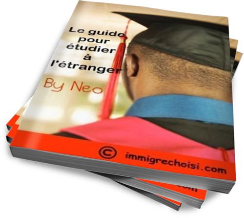 Parution de mon Ebook : «le Guide pour étudier à l'Etranger»