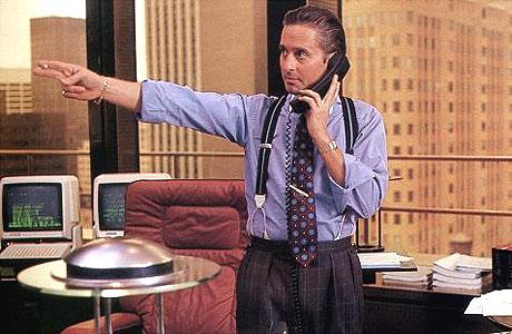 Cinéma : Phrases cultes de Gordon Gekko dans «Wall Street»