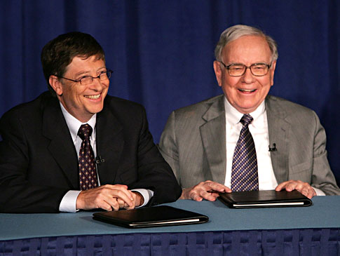 WArren Buffet et Bill Gates