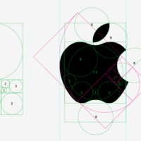 Logo Apple, inspiré de la suite de Fibonacci