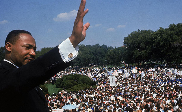 Martin Luther King Leader Charismatique et inspirant