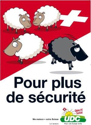 Affiche de campagne d'un parti politique suisse