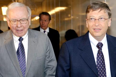 Les deux hommes les plus riches du monde nous parlent de la valeur de l'argent et de la vraie richesse