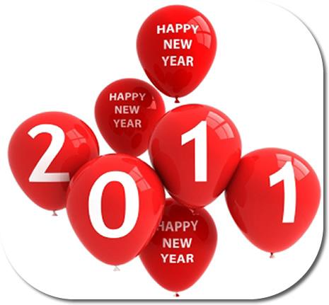 Mes résolutions pour l'année 2011 – comme si ça vous intéressait.