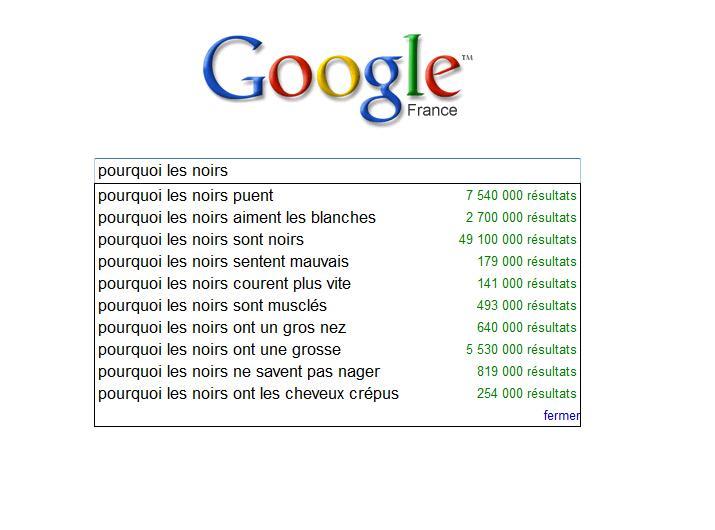 """""""Google suggest"""" ou comment susciter les polémiques inutiles"""