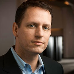 PeterThiel 1 Who Owns Facebook?   The 10 Richest Facebook Shareholders