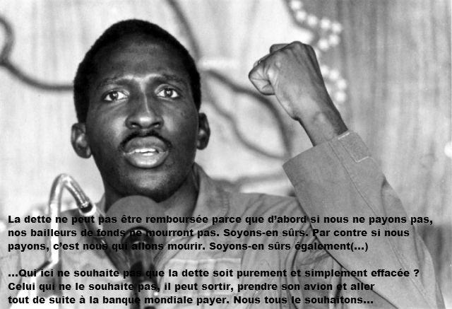 Thomas Sankara, ancien président du Burkina Faso