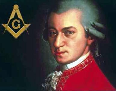 Wolfgang Amadeus Mozart, enfant prodige et franc-maçon célèbre.