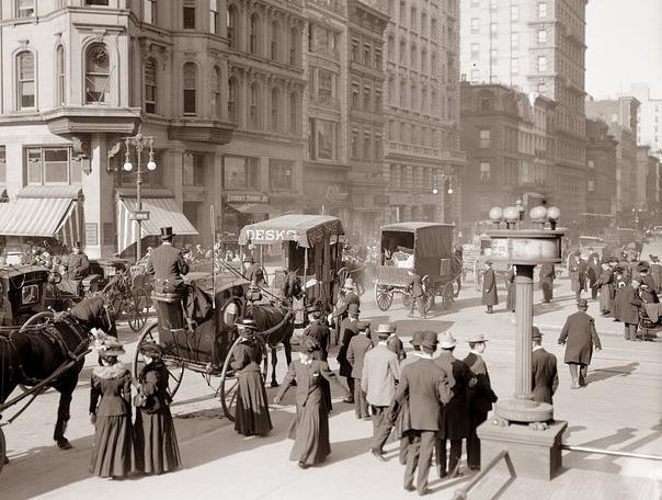 New York aux alentours de 1900.